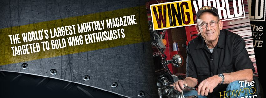 Wing World monthly magazine for Touring Enthusiasts.