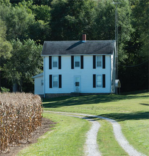 Farmhouse in the Midwest