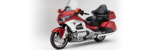 Red and Silver Honda GL1800