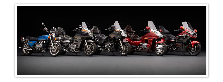 Gold Wing Lineup History View