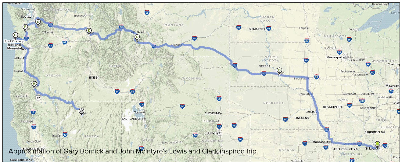 Lewis and Clark on Two Wheels Wing World Magazine